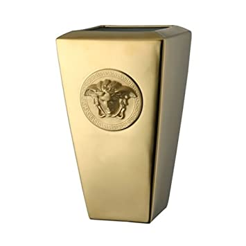 Amazon Versace Medusa Gold Vase Home Kitchen