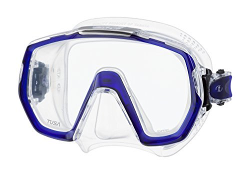 Tusa Freedom Elite Scuba Mask, M-1003 -Cobalt Blue by Tusa by Tusa