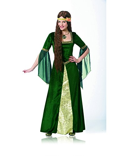 Costume Culture Women's Renaissance Lady Costume, Green, Medium