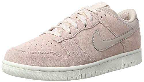 Nike Mens Dunk Low Low Top Lace Up Skateboarding Shoes, Pink, Size 11.5