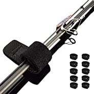 Coruscant Fishing Rods Belt Stretchy Rod Straps Fishing Tackle Ties Cable Fishing Rod Holders Fit for Casting