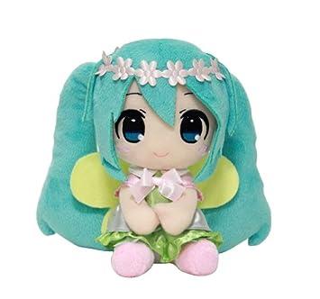 Taito 459911200 una corona de flores de peluche Hatsune Vocaloid Miku peluche, ...