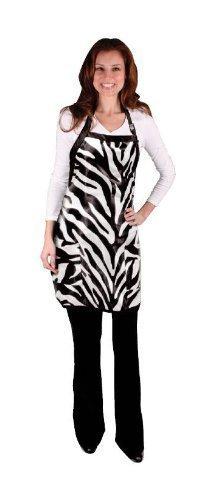 Scalpmaster Salon Chic Zebra Apron, One size