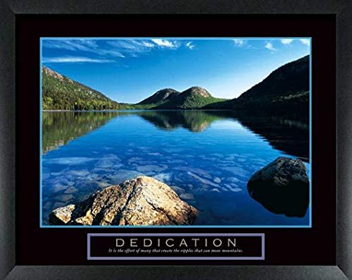 8 Framed Inspirational Art Motivational Posters Office Décor Collection 22X28