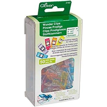 Wholesale CASE of 20 Assorted Baumgartens Plastiklips-Plastic Paper Clips Medium 500//BX