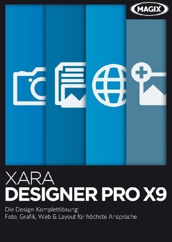 Xara Designer Pro X9 Crossgrade [Download]