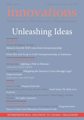 Innovations: Technology, Governance, Globalization 7:1 (2012) - Unleashing Ideas