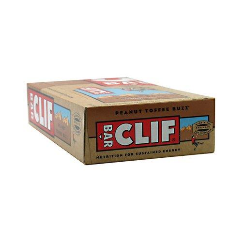 Clif Bar - Organic Peanut Toffee Buzz - Case of 12 - 2.4 ...