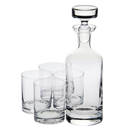 Ravenscroft Crystal Wellington Whisky Set, 5-Piece -