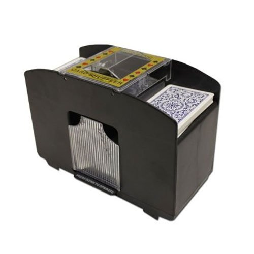 Card Shuffler Battery - Brybelly Four Deck Automatic Card Shuffler