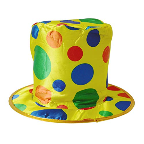 Clown Top Hat Party Hat Clown Costume Accessories Photo-Booth Prop Party Supplies