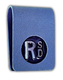 X-Ray Markers, Clipper Style - Thin, 2-3 Initials, L & R 3/4'', Vertical