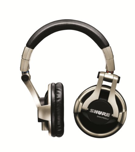 Shure SRH750DJ Professional Quality DJ Headphones (Gold), Best Gadgets
