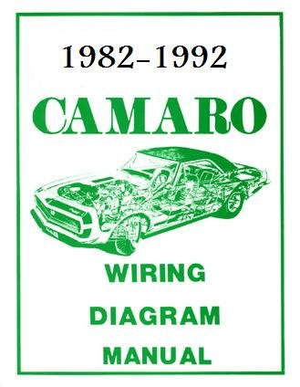 CHEVROLET CAMARO WIRING DIAGRAMS ON CD 1982-1992! CHEVY
