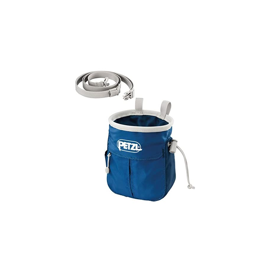 PETZL SAKAPOCHE, Chalk Bag with Pockets for Climbers