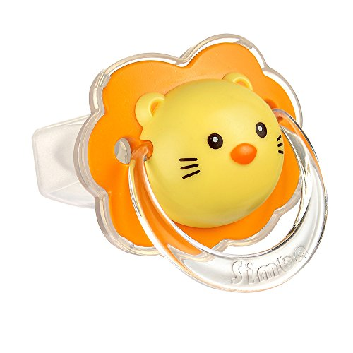 Simba Lion Thumb-Shaped Pacifier, Lion, 6+ Months