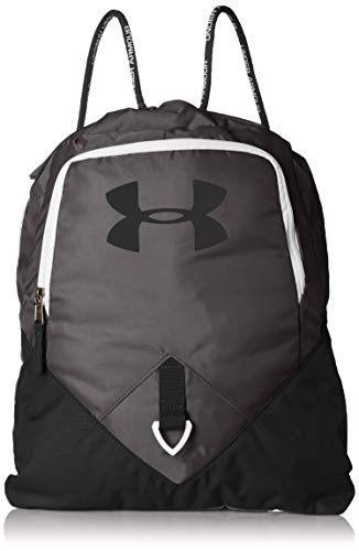 Under Armour Undeniable Sackpack, Graphite (040)/White, One Size Fits All