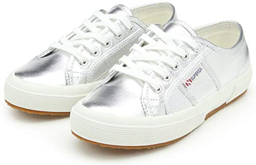 Low 2750 Cotmetu top Superga Sneakers Adults' Silver Unisex IwqTR