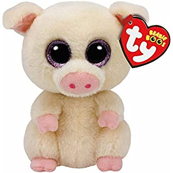 612d2f01af3 Amazon.com  Claire s Girl s Ty Beanie Boo Large Posey the Pig Plush ...