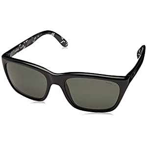 Bolle 527 Sunglasses, Shiny Black/Polarized TNS Oleo AR