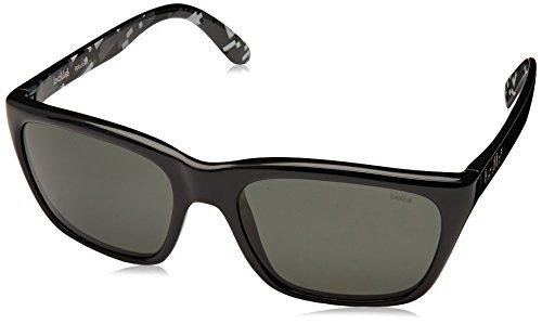 Bolle 527 Sunglasses, Shiny Black/Polarized TNS Oleo AR