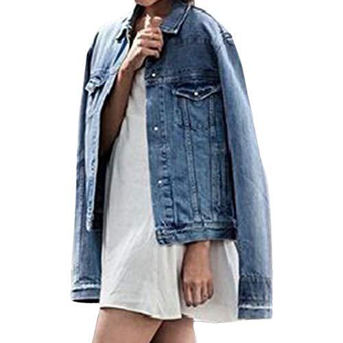 - PIKAqiu33 Womens Button Down Plus Denim Dress Ladies Belted Jeans Long Tops Coat