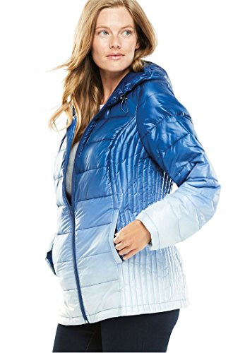 9b79e094efe Women s Plus Size Packable Puffer Jacket... By Woman Within