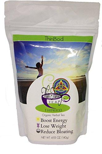 Thin Tummy Tea - Organic Herbal Tea, Thin Bod (30 Day Supply) by Thin Tummy Tea