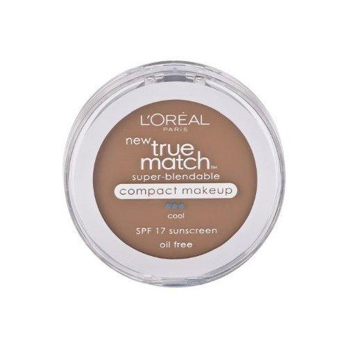 Loreal Paris True Match Super Blendable SPF17 Cool Soft Sable Foundation Makeup -- 2 per case.