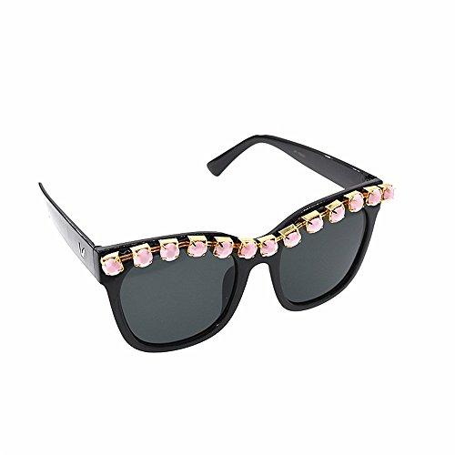 Sol Fashion de de Tonos de Show Mujer Eyes Sol de Gafas Proteccion Playa Retro Gafas Crystal Gafas Sol Cat para Barroco Style Gafas Moda Personalidad Sol de Ojos Oversized de xfYwqanOf