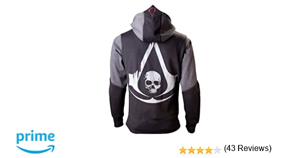 Import Europe, Sudadera Assassins Creed, Negro (Negro/Gris), S: Amazon.es: Ropa y accesorios