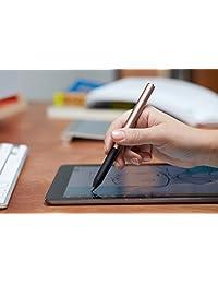 Adonit Pixel lápiz óptico para iPad sensible a la presión, color bronce (ADPBR), Negro