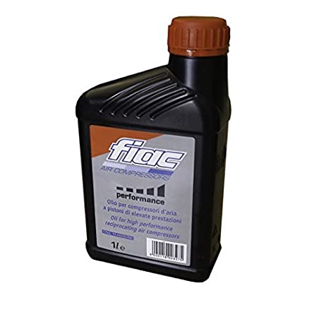 Aceite para compresores de aire sintético 1 lt universal Fiac Synthesis 227: Amazon.es: Deportes y aire libre