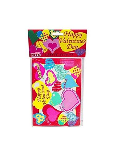happy valentine 8 pack invitations-envelopes - Pack of 72