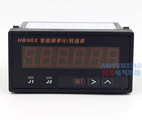 Digital Phase Pulse Counter Switch Signal Speed RPM Display Frequency Meter Tachometer line Speed Meter