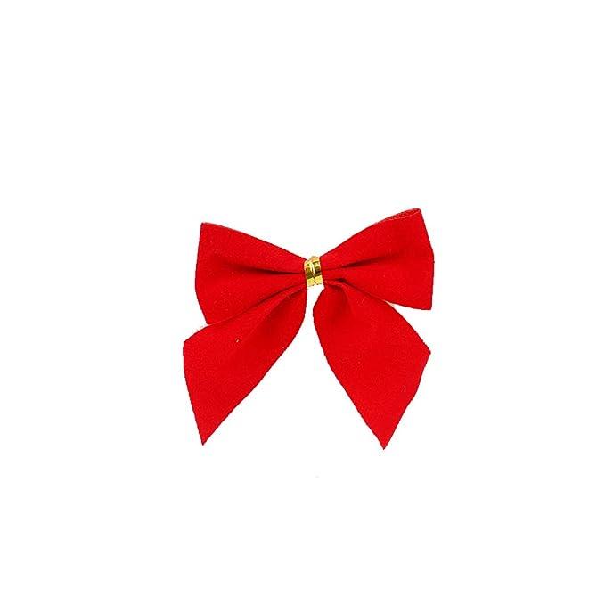 Aofocy Christmas Ribbons Party Decoration Ribbon Christmas Supplies Christmas Tree Ribbon Ornaments