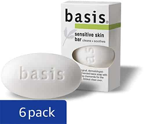 Basis Sensitive Skin Bar 4 Ounce (Pack of 6)