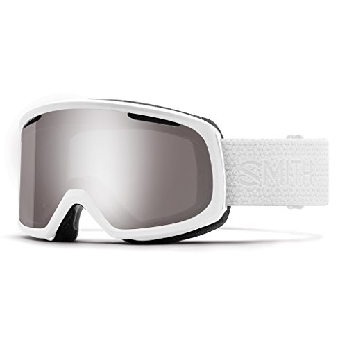 Smith Optics Riot Snow Goggles White Mosiac with CP Sun Platinum Mirror and CP Yellow Lens (Ski Riot)