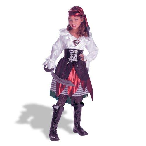 Pirate Lass Costume - Large (Sassy Pirate Costume)