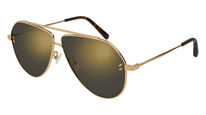 Stella McCartney SC 0063S 003 , Doré , Aviator