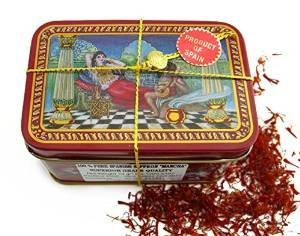 Saffron Mancha - 1 oz. Tin by International Food Source