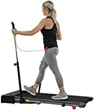 Sunny Health & Fitness Walkstation Slim Flat and Hybrid Tread