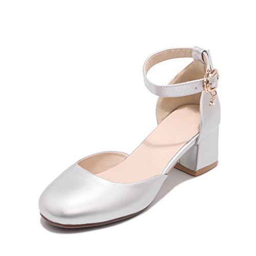 Silver Sandales 5 36 Compensées Femme BalaMasa EU Argenté wIqg1w6