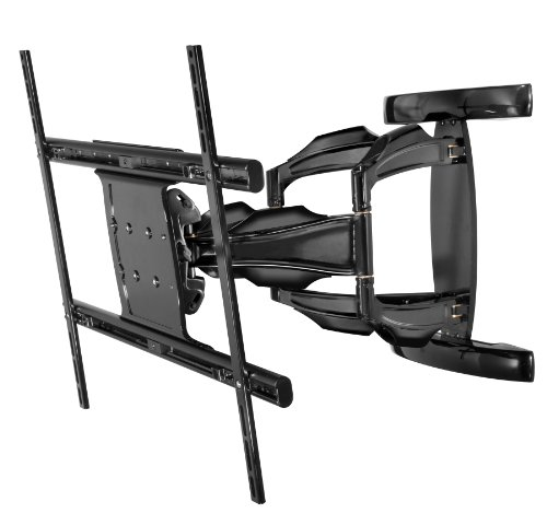 Peerless SA771PU Wall Mount for Flat Panel Display. ARTICULATING DUAL ARM WALL MOUNT FOR 37-71IN MNTR-L. 37' to 71' Screen Support - 200 lb Load Capacity - Gloss Black ()