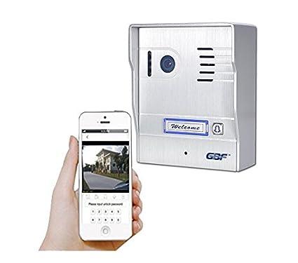 Amazon.com: GBF IP Wireless Weatherproof Video Doorbell WI-FI ...