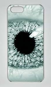 Iphone 6 plus 6 plus PC Hard Shell Case The Eye of Future Transparent Skin by Sallylotus
