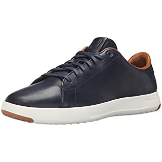 Cole Haan Men's Grandpro Tennis Fashion Sneaker, Blazer Blue Hand Stain, 12 M US