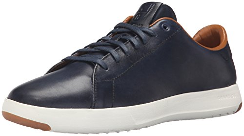 Cole Haan Men's Grandpro Tennis Fashion Sneaker, Blazer Blue Hand Stain, 15 W US