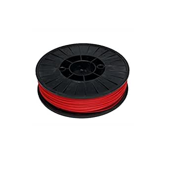 UP! ABS Plastic Filament, 1.75 mm Diameter, 1.54 lbs Spool, Red