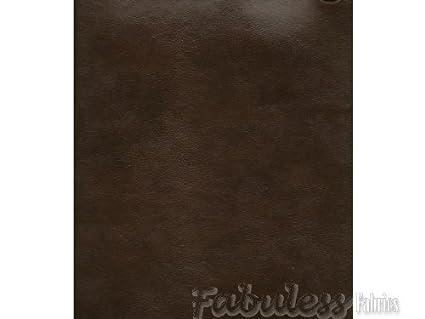 Amazon Com Chocolate Bonded Leather Vinyl Upholstery Fabric Per Yard